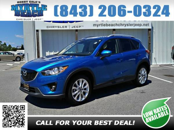 2014 Mazda CX-5 CX5 Grand Touring Sky Blue Mica
