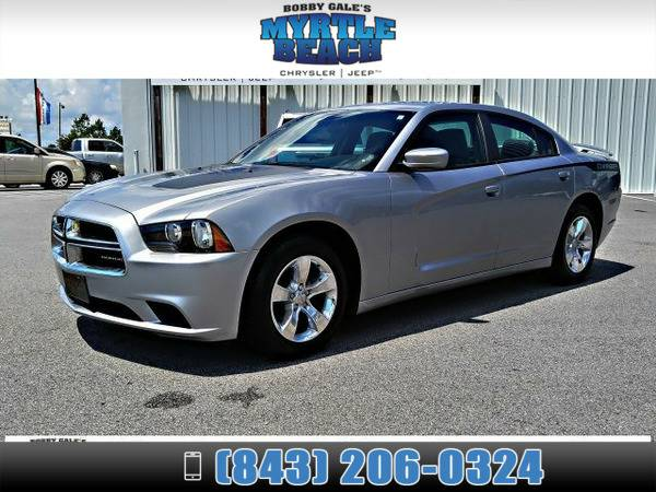 2014 Dodge Charger SE Bright Silver Metallic Clearcoat