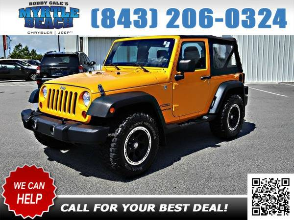 2012 Jeep Wrangler Sport Crush Clearcoat