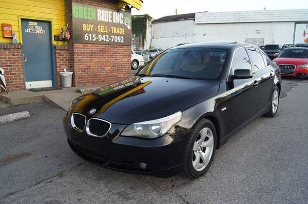 2005 BMW 5 Series 525i 4dr Sedan Clean Carfax Leather&Sunroof CLEAN!!!