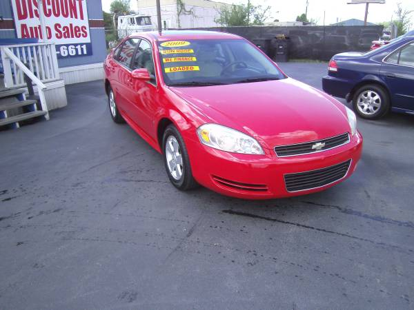 2009 Chevy Impala ( EASY FINANCING) !!! SPORTS CAR !!! ( RED )