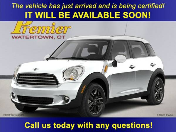 2012 MINI Cooper S Countryman 4D Sport Utility ALL4