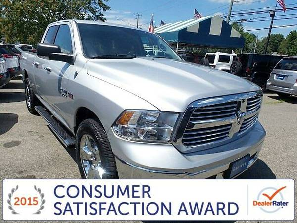 2013 *Dodge Ram 1500* Big Horn - Dodge Bright Silver Metallic...