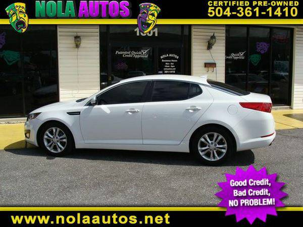 2012 *Kia* *Optima* LX MT -BAD CREDIT... NO PROBLEM‼️