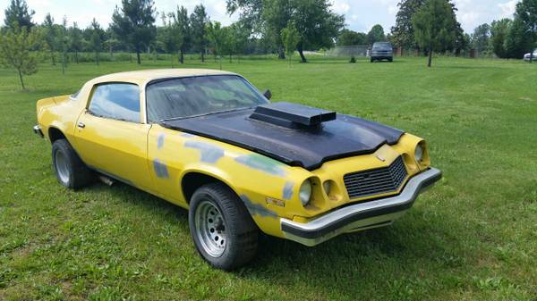 Vintage Camaro street / strip project car