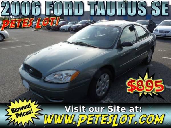 2006 Ford Taurus SE - Great Condition Taurus