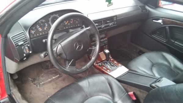 98 benz SL500 DROP TOP IN MINT. 99.000 MILES $6500