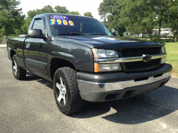 2003 CHEVY 1500 5.3L WITH TIRES AND WHEELS