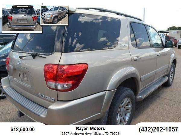 2005 Toyota Sequoia SUV Limited Sport Utility 4D