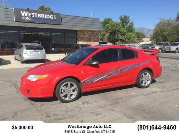 2005 Saturn Ion Coupe Red Line Quad Coupe 4D
