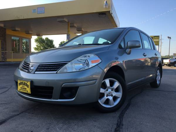 2007 NISSAN VERSA HATCHBACK, PRACTICAL, TONS OF CARGO SPACE