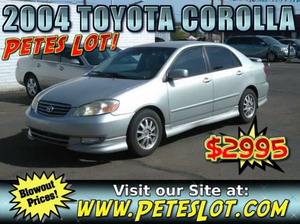 2004 Toyota Corolla - 92k Corolla For Sale
