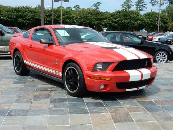 2007 FORD MUSTANG SHELBY GT500, Red*___Military Instant Approvals!!