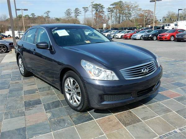 2009 INFINITI G37 AWD, Gray-Military Instant Approvals!!_$O Down!!
