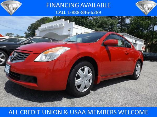 2008 NISSAN ALTIMA S RED