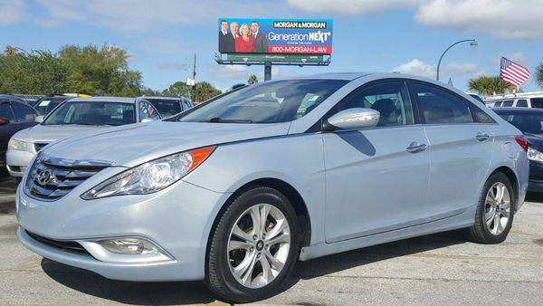 2011 *Hyundai* *Sonata* Limited - Low Monthly Payment - 100%...