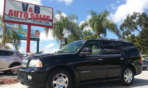 2005 *Lincoln* *Navigator* SUV - Low Monthly Payment - 100% Financing!