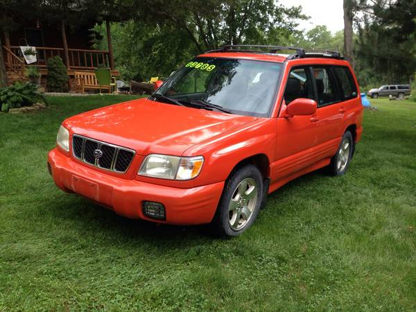 2002 Subaru Forester Sport Leather loaded on sale!