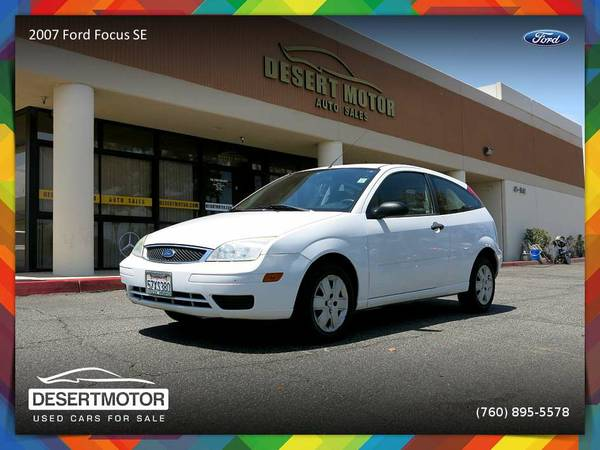 2007 Ford Focus SE Coupe is priced to SELL NOW!