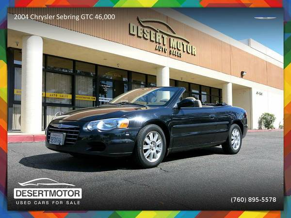 2004 Chrysler Sebring GTC 46,000 Miles Convertible at OUTRAGEOUS...