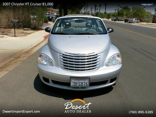 2007 Chrysler PT Cruiser 81,000 MILES Convertible FOR SALE. Trades...