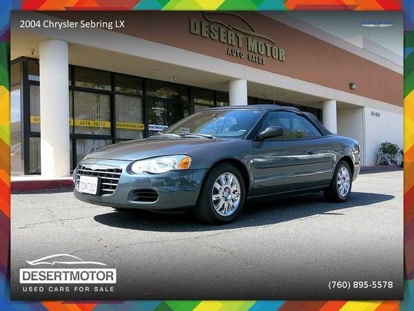 2004 Chrysler Sebring LX Convertible with a GREAT COLOR COMBO!