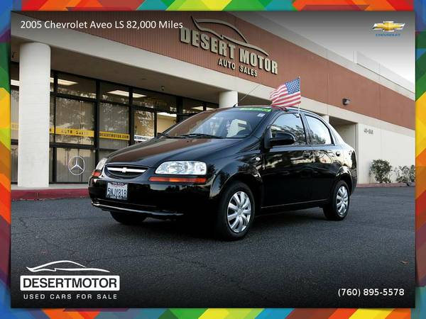 2005 Chevrolet Aveo LS 82,000 Miles Sedan at a PRICE YOU CAN AFFORD