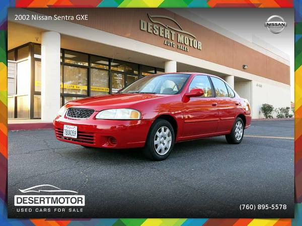 2002 Nissan Sentra GXE Sedan in EXCELLENT Condition