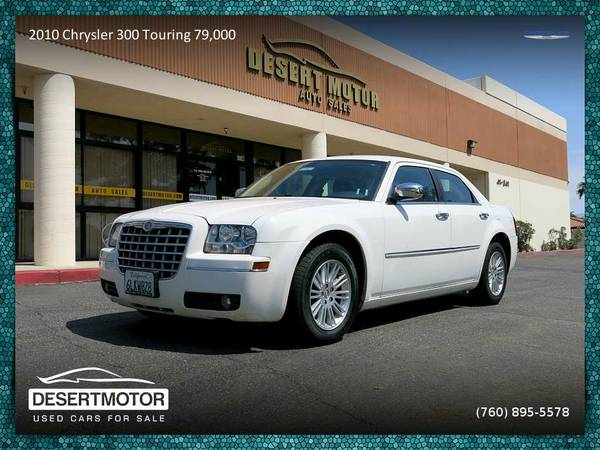Stunning 2010 Chrysler 300 Touring 79,000 Miles priced to sell!