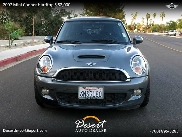2007 Mini Cooper Hardtop S 82,000 miles clean title Panoramic Roof...