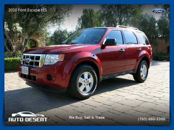 2010 Ford Escape XLS SUV $9,470 or $100 per month