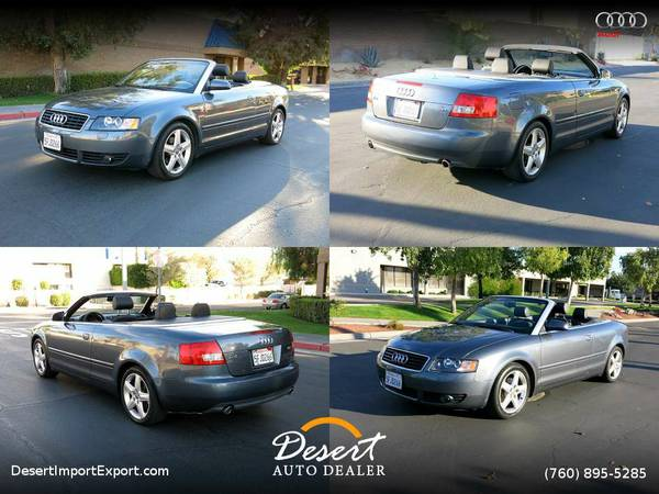 2005 Audi A4 1.8T 71,000 miles Convertible - Unbelievably Priced...