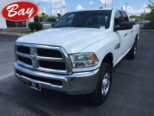 2016 *RAM 2500* SLT - (Bright White Clearcoat) 6 Cyl.