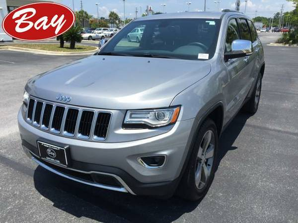 2015 *Jeep Grand Cherokee* Limited 4x4 - (Granite Crystal Metallic...