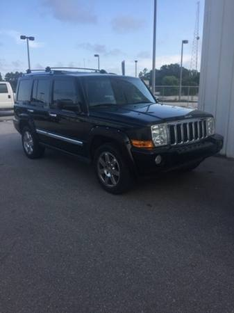 2008 Jeep Commander Black Awesome value!