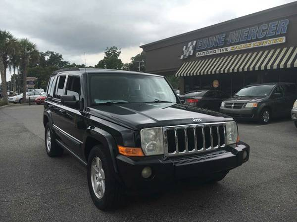 2007 Jeep Commander Black ON SPECIAL!