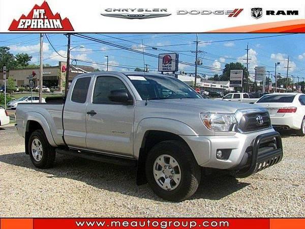 2013 *Toyota Tacoma* SR5 - (Silver Streak Metallic)