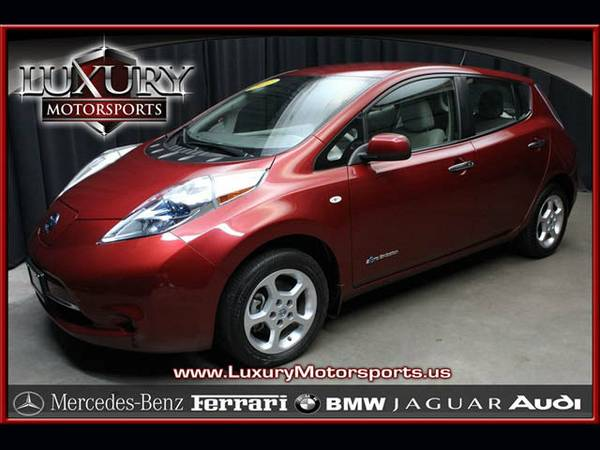 *13634- 2011 Nissan Leaf SL 100% Electric! 11 hatchback
