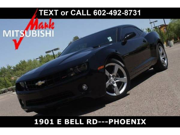 2012 *Chevrolet Camaro* 1LT - Chevrolet Black