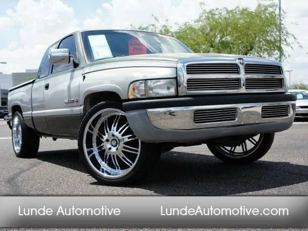 1996 *Dodge Ram 1500* ST (Green)