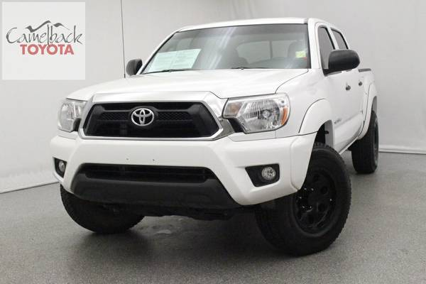 Certified: 2013 Toyota Tacoma 4D Double Cab Base