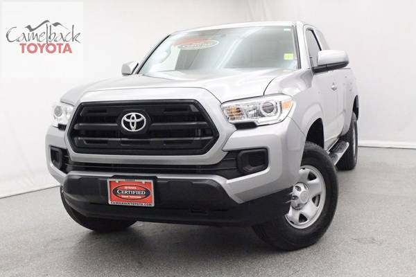 Certified: Stock 29711B 2016 Toyota Tacoma 4D Access Cab SR