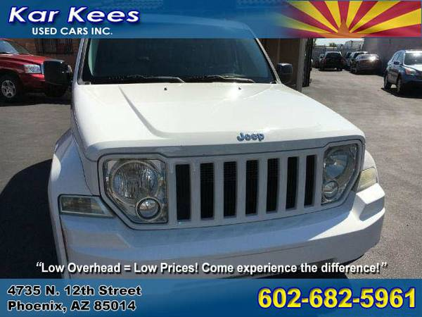 _285041- 2008 Jeep Liberty Sport 08 suv Certified Inspected! CALL NOW!