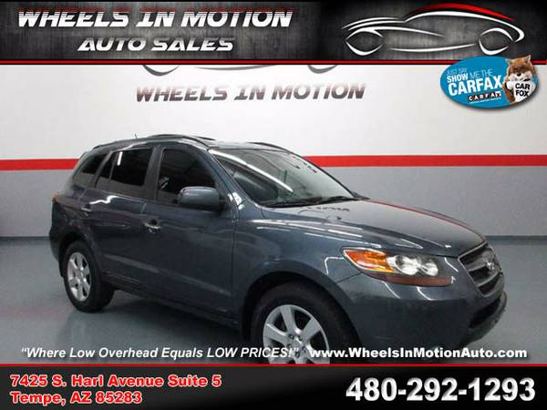 !40178- 2007 Hyundai Santa Fe Limited SUPER NICE w/DVD Call Now! 07 su