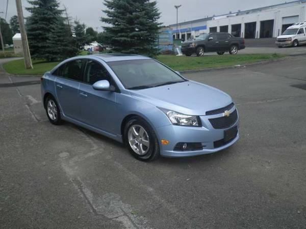 2012 *Chevrolet Cruze* 4dr Sdn LT w/1LT - ICE BLUE METALLIC