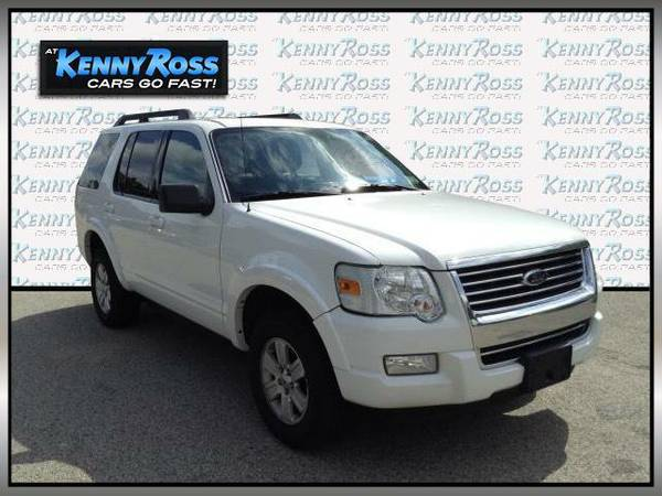 2010 *Ford Explorer* 4WD 4dr XLT - White Suede
