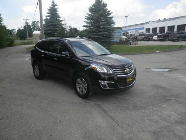 2016 *Chevrolet Traverse* AWD 4dr LT w/1LT - Mosaic Black Metallic