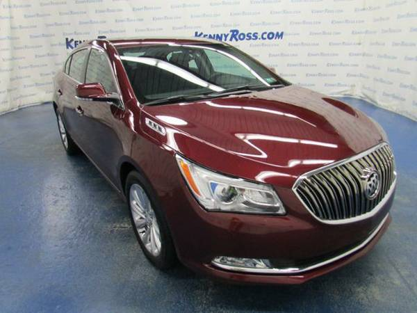 2016 *Buick LaCrosse* 4dr Sdn Leather FWD - Buick Deep Garnet Metallic