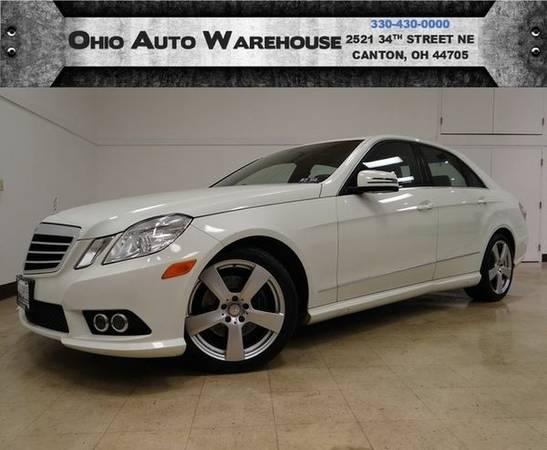 2010 *Mercedes-Benz* *E350* 4Matic AWD Navigation Sunroof We Finance...