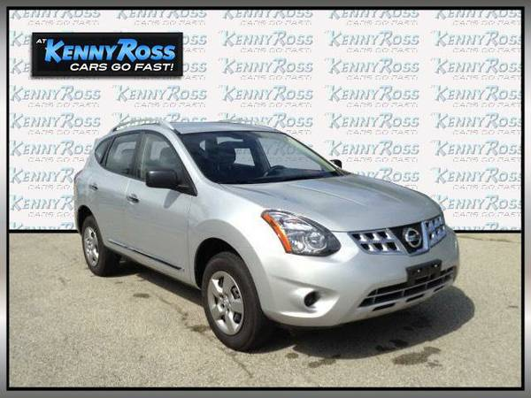 2015 *Nissan Rogue Select* AWD 4dr S - Brilliant Silver